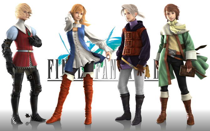 Final_Fantasy_III_Cast