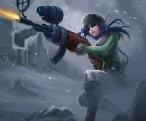 League-of-Legends-Arctic-Warfare-Caitlyn-Wallpaper